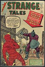 STRANGE TALES  111  VG/FN/5.0 - 2nd appearance Dr. Strange! 1st Asbestor Man!!