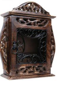 keeper/ Wall Antique Key Box/Wooden key cabinet,Wooden Key Holder-key house/Key