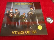 LP 33 The Beatles Stars Of '63 The Swingin' Pig TSP 005 BLUE VINYL Luxembourg