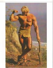 bodybuilder DAVE DRAPER Outdoors In Canada Bodybuilding Muscle Photo Color