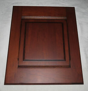 Wood-Mode Bordeaux Cherry Sample Cabinet Door Distressing Package #2