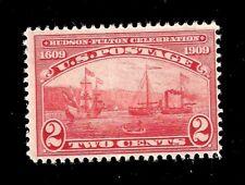 US Sc 372 2¢ Half Moon & Claremont Mint Mint NH - Crisp Color