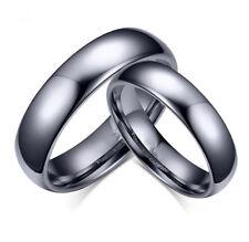 Tungsten Men's / Women's Classical Polish Wedding Band Ring Never Tarnish R110