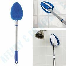 Bathtub Cleaner Tub Scrubber Tile Mop Toilet Glass Floor Shower Extendable Pole