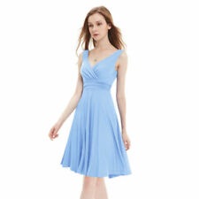 Summer Polyester Dresses for Women with Empire Waist