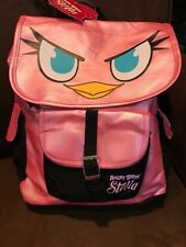 "ANGRY BIRDS ""STELLA"" BACKPACK ACCESSORY PINK SUPER CUTE!!"
