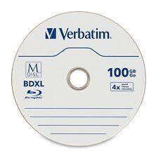 Verbatim Blu-ray Recordable Media - Bd-r Xl - 4x - 100 Gb - 5 Pack Jewel (98913)