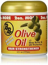 Bronner Brothers BB Olive Oil Hair Strengthener Shea Butter Anti Breakage 6oz