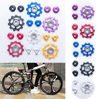 Aluminium Bike Jockey Wheels Rear Derailleur Pulley For SHIMANO 9/10 Speed