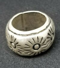 Metal Pointus Sun Ring Silver US 7 EU 13-14 New Metal Pointu's from Japan