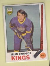 1969-70 O PEE CHEE HOCKEY BRIAN CAMPBELL ROOKIE #106 KINGS VGEX/EX *62736