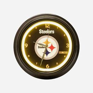 Pittsburgh Steelers NFL Gametime LED Clock, FREE SHIP!