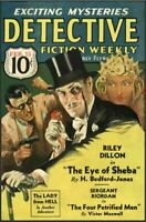 DETECTIVE FICTION WEEKLY 44 Issue Collection On USB Flash Drive