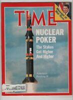 Time Magazine Nuclear Poker Pershing II January 31, 1983 060920nonr