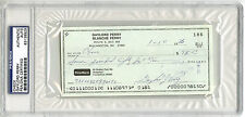 Gaylord Perry SIGNED PERSONAL CHECK San Francisco Giants PSA/DNA AUTOGRAPHED