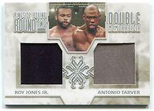 Roy Jones Jr. Antonio Tarver 2011 Ringside Boxing 2 Dual Trunks /50 *AA355