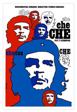 "Cuban movie Poster for""Che Guevara.TODAY and Forever.Political.Decorative design"