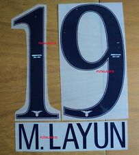 AMERICA DE MEXICO 2014-15 M. LAYUN AUTHENTIC NAME AND NUMBER HOME SET