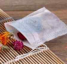"""100-Pack Cotton Muslin Drawstring Bags Bath Soap Herbs Tea 8x10cm 3x4"""""""