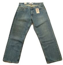 LEVIS Boys Denim Blue Jeans Size 14 Husky Levi's 550 Relaxed NEW 14H