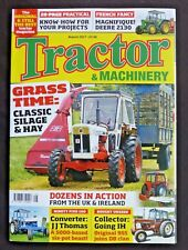 Tractor & Machinery, August 2017, IH 955, Classic Silage And Hay, JD 2130
