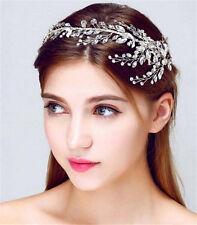 Wedding Bridal Crystal Rhinestone Headband Hair Accessories Crown Tiara Jewelry