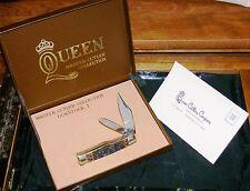"Queen Steel Gunstock Trapper 1979 ""Master Cutler Collection"" W/Presentation Box"