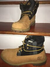 MEN'S TIMBERLAND SIZE 11 leather timberlands men classic with black leather