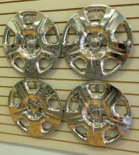 """NEW 2013-2014 Dodge DART 16"""" CHROME Bolt-on Hubcaps Wheelcovers SET of 4"""