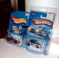 RARE Hot Wheels GM Platinum Card Corvette SR-2 + Kar Keepers VW Bug - MOC