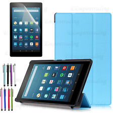 Smart-Shell Stand Cove Protective Case For Amazon Kindle Fire 7 8 10 inch Tablet
