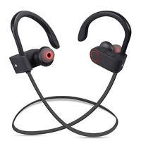Sweatproof Wireless Bluetooth Stereo Headset Headphones Sport Earphones Earbuds