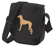 More details for saluki bag dog walkers bag shoulder bags handbags birthday saluki  xmas gift