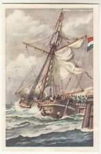 N°83 Gunboat Jan van Speyk Dutch Naval / Belgium Revolution NETHERLANDS CARD