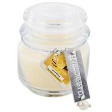 Candele e lumini beige cera profumo vaniglia per la decorazione della casa