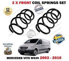 Per Mercedes Vito W639 109 111 115 120 CDI 2003-2010 2 X Anteriore Molla a spirale set