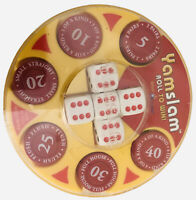 Yamslam Pocket Yatzhee Game New Sealed Travel Dice Strategy Game