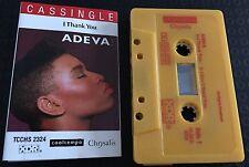 I Thank You ~ ADEVA Cassingle (Cassette Tape Single)