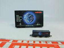 AU580-0,5# Märklin mini-club Scala Z/DC Vagone per container Natale 2005, W+
