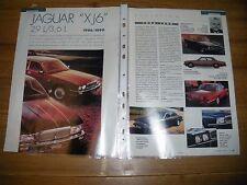 ESSAI / AUTOPSIE.......JAGUAR XJ 6 2.9 L / 3.6 L 1986 / 1990