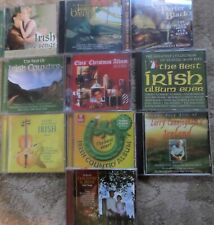 Collection Of Irish music-10 CD JOB LOT/Elvis' Christmas/Country  Irish Rover