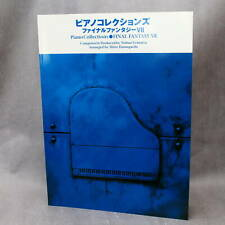 Final Fantasy VII Piano Collections Japan Square Enix Game Music Score Book