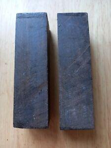 African blackwood turning blanks/ spindles(2)