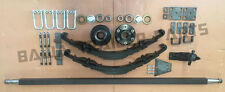 Single Axle UN-BRAKED OFF ROAD Trailer Kit 2000kg Rating! TRAILER PARTS