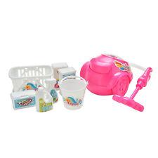 8X/lot HLeative HLeaning Kit Barrel Basket Vacuum HLeaner for Barbie Dolls HL