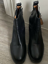 Whistles Black Ankle Boots Size 39. UK 6