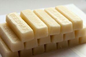 White Beeswax Blocks / Bars - Cosmetic Grade - Naturally Fragrant Beeswax