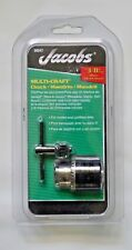 """Jacobs Chuck 30247 3/8"""" Keyed Chuck For 3/8""""- 24 Mount"""