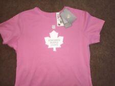 "NEW W/T Reebok® Womens PINK ""TORONTO MAPLE LEAFS"" ""SUNDIN 13"" T-Shirt  Large"