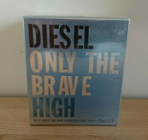 Diesel Only The Brave High 125ml EDT - Brand New & Sealed 100% Authentic Spray